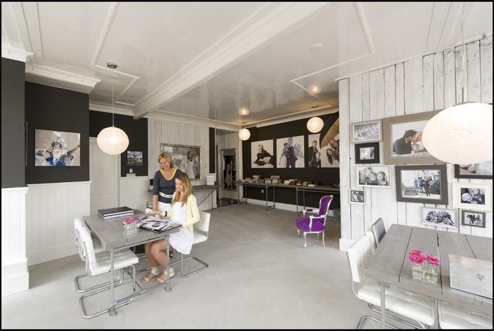 Nieuw Interieur ontvangstruimte van de studio - Fotograaff