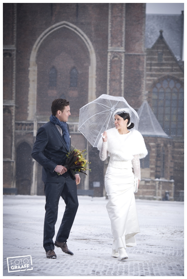 huwelijk in Delft in de sneeuw_0780