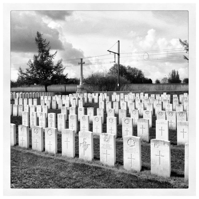Begraafplaats vlakbij Hill 60
