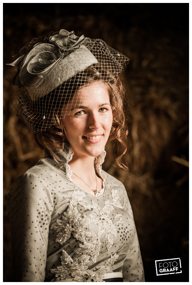 Bruidsfotografie en huwelijk in Kasteel Rhenen_1150