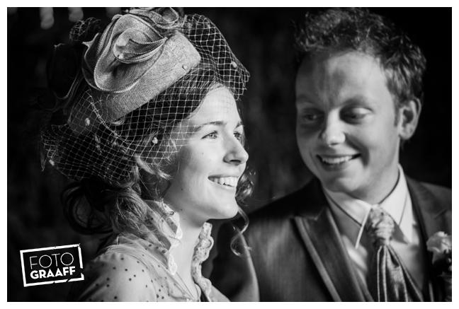 Bruidsfotografie en huwelijk in Kasteel Rhenen_1151