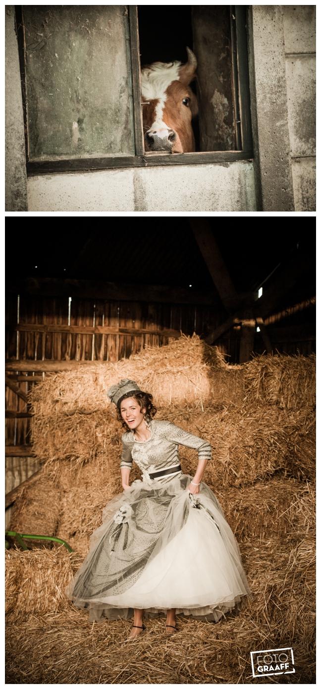 Bruidsfotografie en huwelijk in Kasteel Rhenen_1152