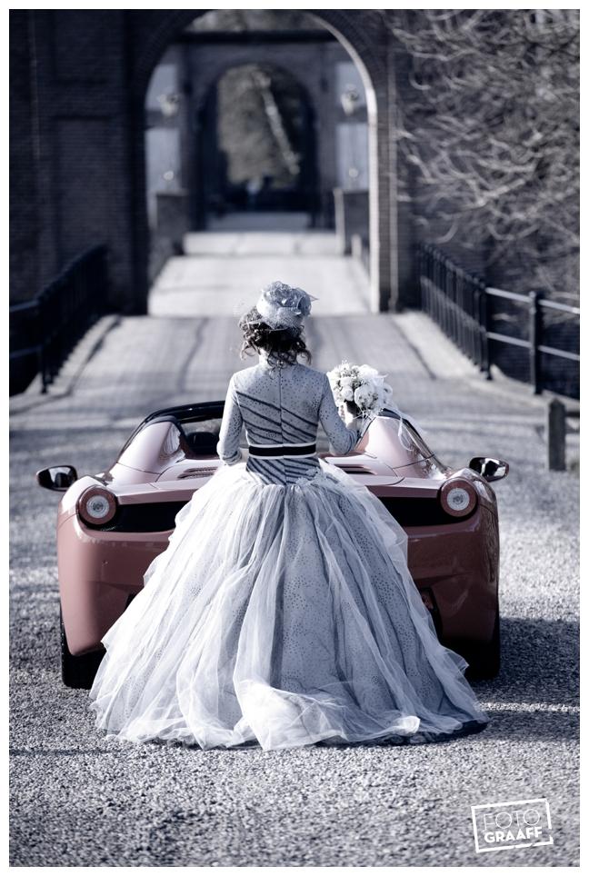Bruidsfotografie en huwelijk in Kasteel Rhenen_1153