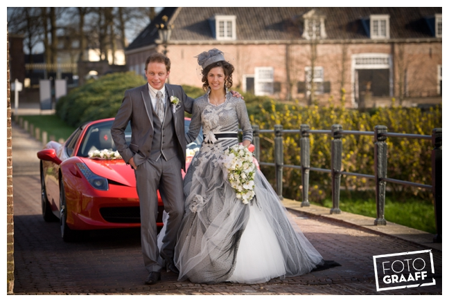 Bruidsfotografie en huwelijk in Kasteel Rhenen_1155