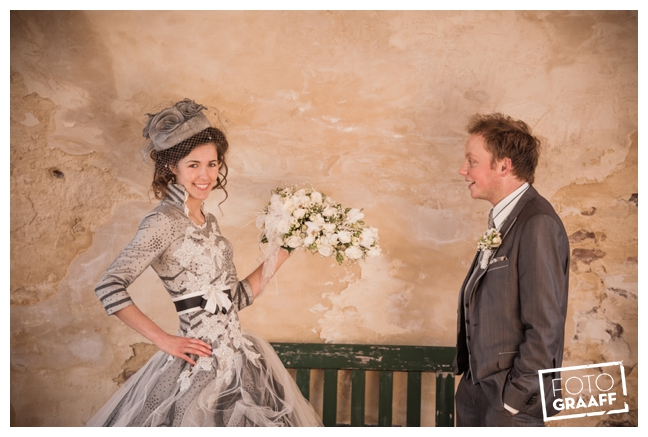 Bruidsfotografie en huwelijk in Kasteel Rhenen_1156