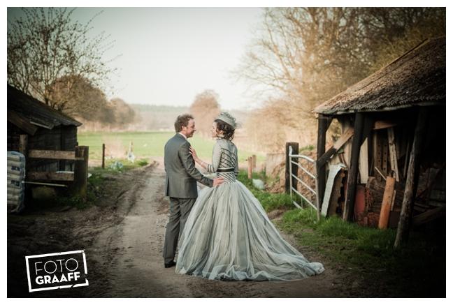 Bruidsfotografie en huwelijk in Kasteel Rhenen_1164