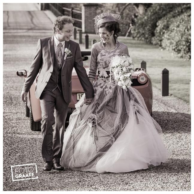 Bruidsfotografie en huwelijk in Kasteel Rhenen_1165