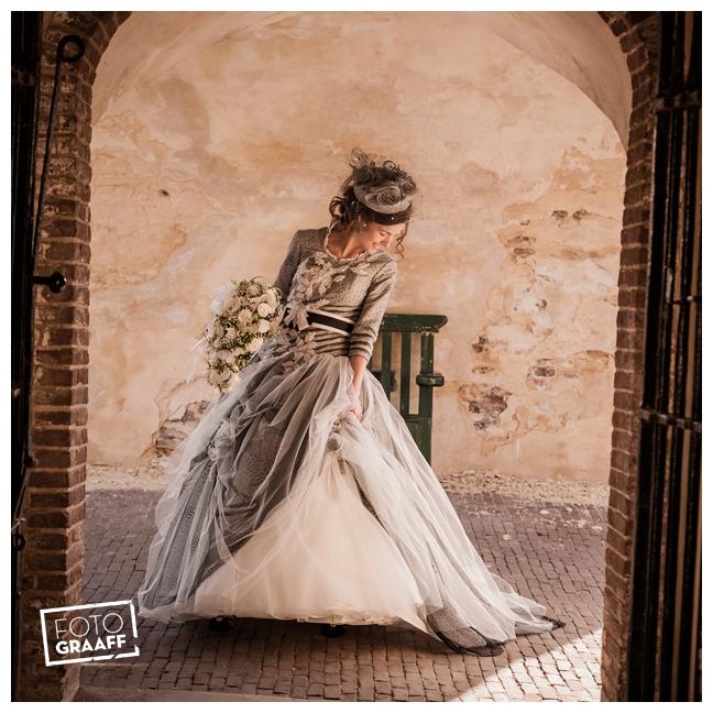 Bruidsfotografie en huwelijk in Kasteel Rhenen_1166