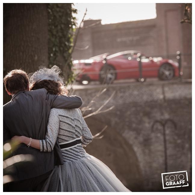 Bruidsfotografie en huwelijk in Kasteel Rhenen_1167