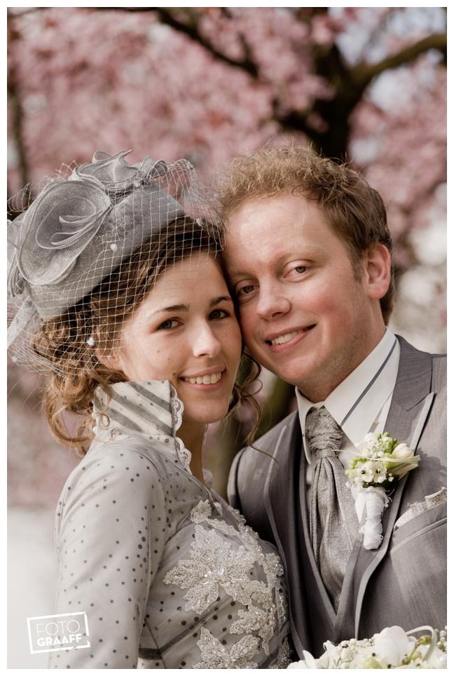 Bruidsfotografie en huwelijk in Kasteel Rhenen_1171