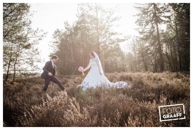 Bruidsfotografie en huwelijk in Kasteel Staverden_1103