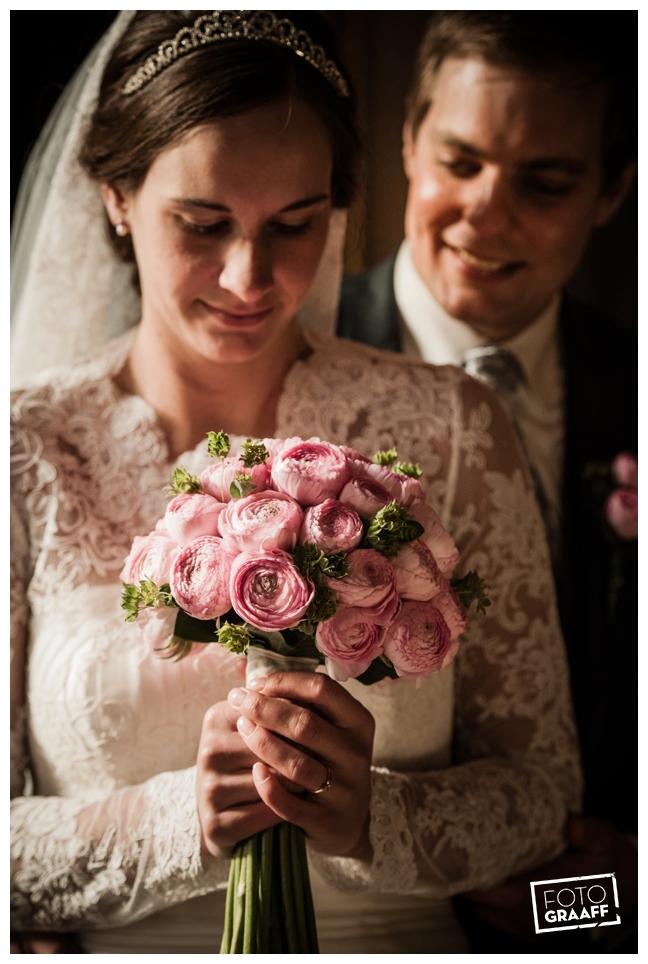 Bruidsfotografie en huwelijk in Kasteel Staverden_1107