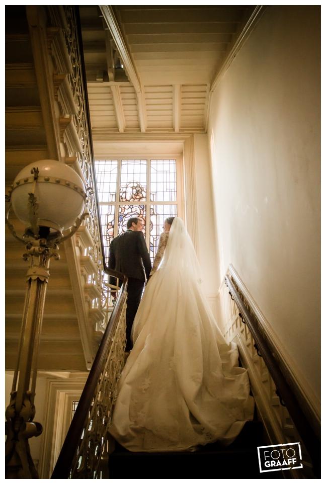 Bruidsfotografie en huwelijk in Kasteel Staverden_1117