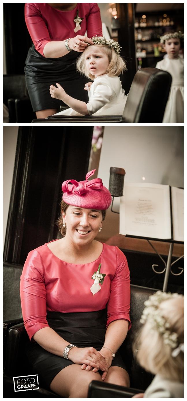 Bruidsfotografie in Dordrecht en feest In de skybar bij Hotel van der Valk Dordrecht_1071