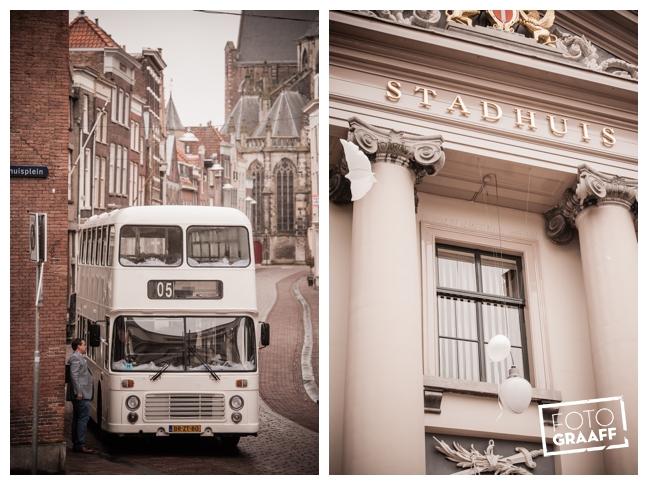 Bruidsfotografie in Dordrecht en feest In de skybar bij Hotel van der Valk Dordrecht_1076