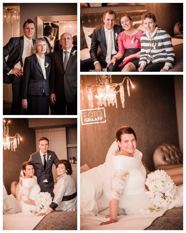 Bruidsfotografie in Dordrecht en feest In de skybar bij Hotel van der Valk Dordrecht_1082