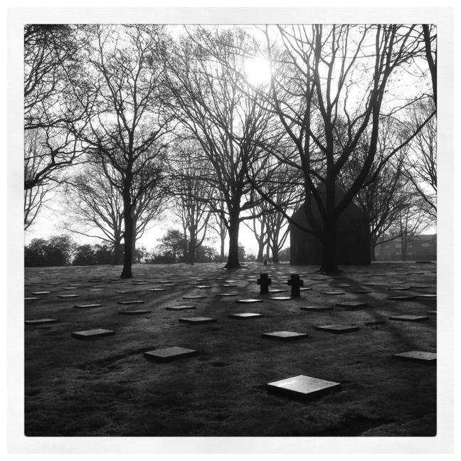 Duitse begraafplaats Ieper