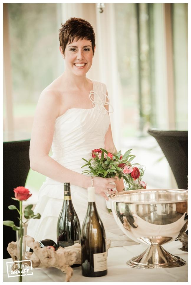 Bruidsfotografie en huwelijk in Kasteel de Vanenburg_1194