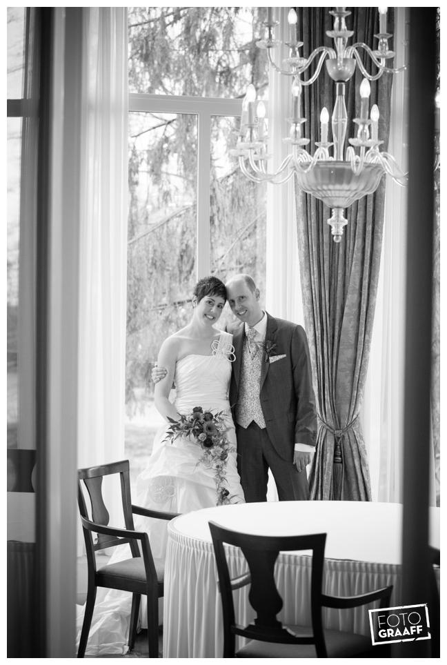 Bruidsfotografie en huwelijk in Kasteel de Vanenburg_1198