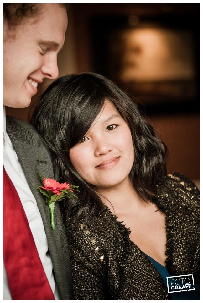 Bruidsfotografie en huwelijk in Kasteel de Vanenburg_1202